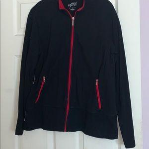 Style & Co sport zip up jacket